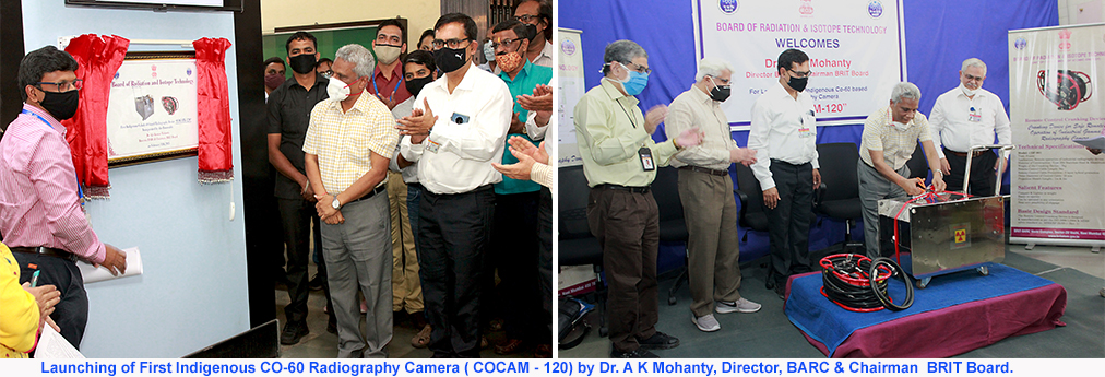 Launch of Cobalt -60 radiography Camera (COCAM-120)